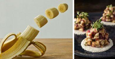 Receta de tartar de plátano