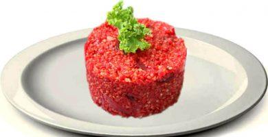 Tartar de quinoa y remolacha