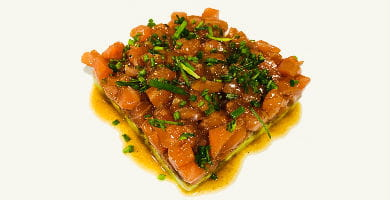 tartar de pescado