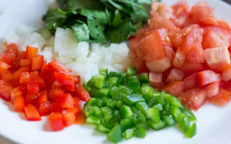 Cómo hacer un tartar de verduras