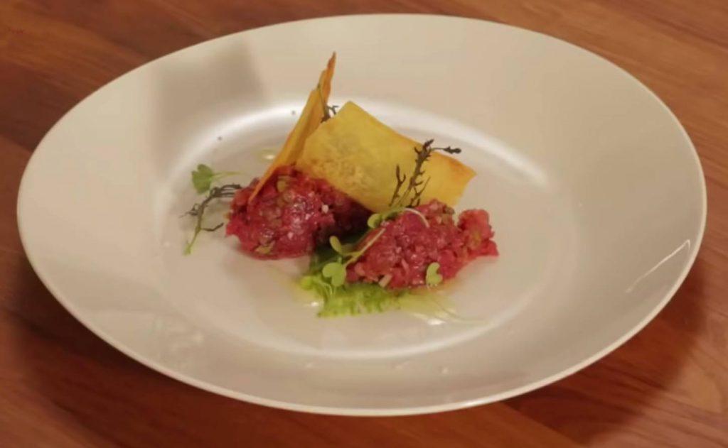Steak Tartar a las Finas Hierbas